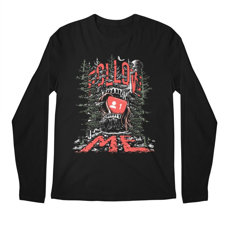 Follow me Men's Regular Longsleeve T-Shirt by Saṃsāra LSD