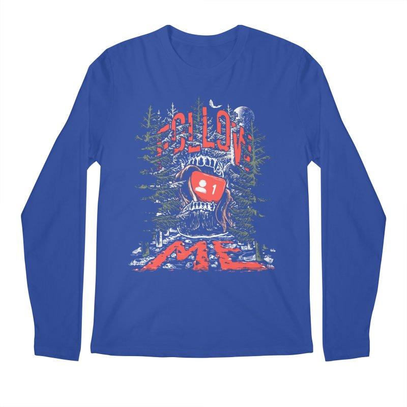 Follow me Men's Regular Longsleeve T-Shirt by Saṃsāra LSD