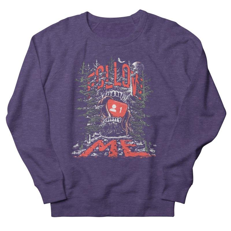 Follow me Women's French Terry Sweatshirt by Saṃsāra LSD