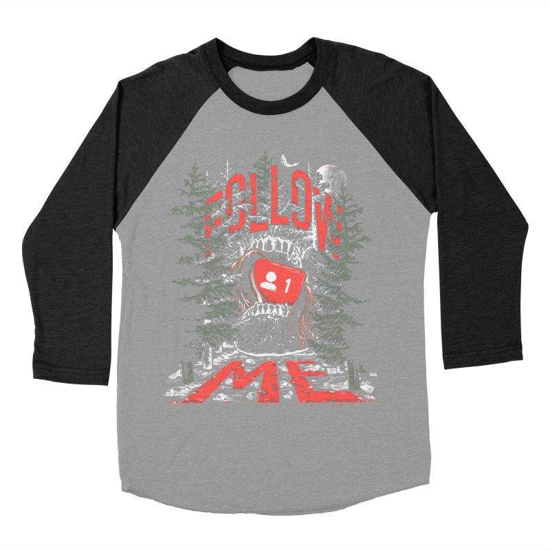 Follow me Women's Baseball Triblend Longsleeve T-Shirt by Saṃsāra LSD