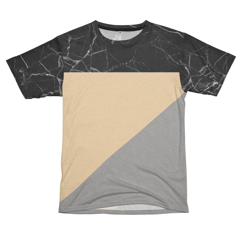 Black Marble Men's French Terry T-Shirt Cut & Sew by Saṃsāra LSD