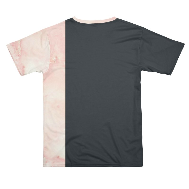 Pink Marble Men's Cut & Sew by Saṃsāra LSD
