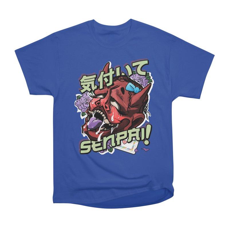 Notice me, senpai! Women's T-Shirt by Saṃsāra LSD