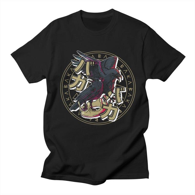 Baka! in Men's Regular T-Shirt Black by Saṃsāra LSD