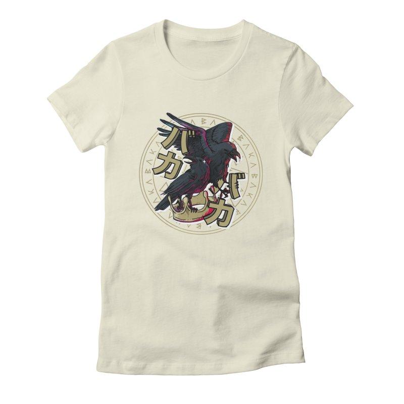 Baka! Women's Fitted T-Shirt by Saṃsāra LSD