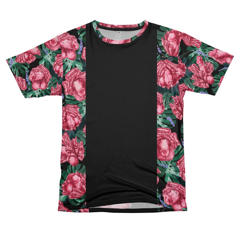 Adam's Eden - Penis flower pattern Men's Cut & Sew by Saṃsāra LSD