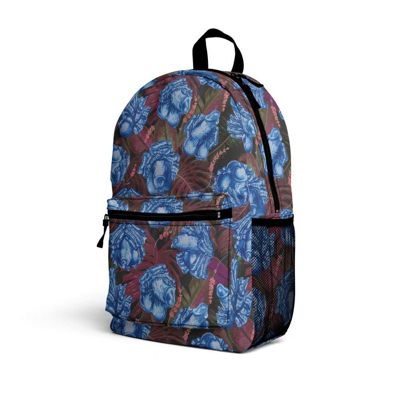 Adam's Eden - Navy dick blossom Accessories Bag by Saṃsāra LSD
