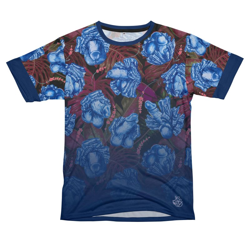 Adam's Eden - Navy dick blossom Men's Cut & Sew by Saṃsāra LSD