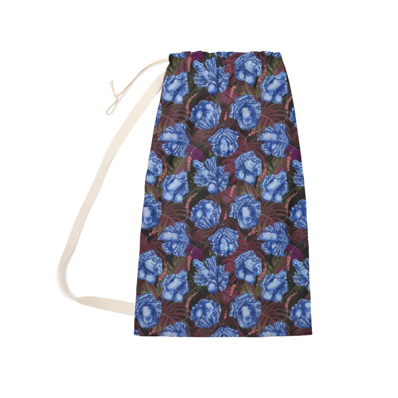 Adam's Eden - Navy dick blossom Accessories Bag by Saṃsāra LSD