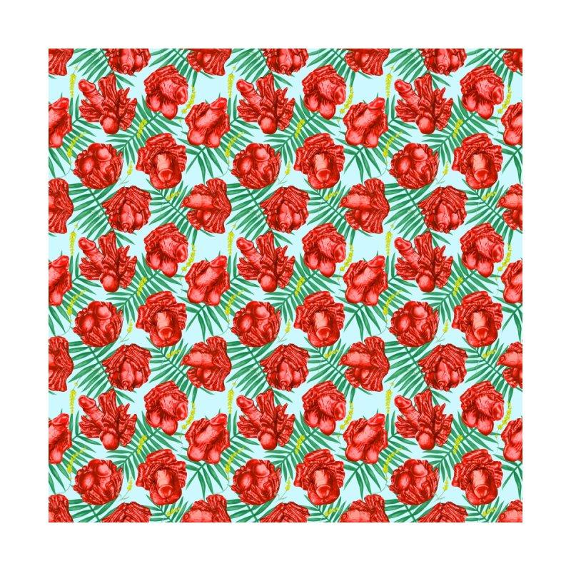 Adam's Eden - Summer willy poppy Men's Cut & Sew by Saṃsāra LSD
