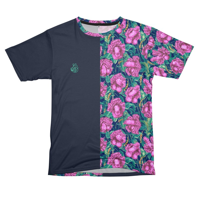 Adam's Eden - Tropical cock flowers Men's Cut & Sew by Saṃsāra LSD