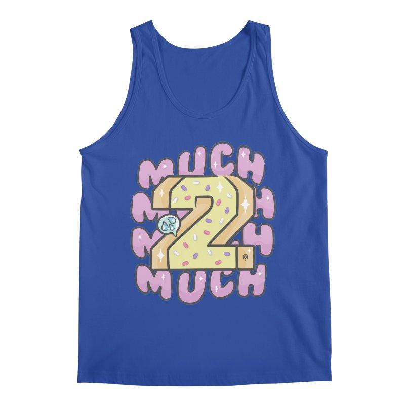 2 Much Men's Tank by Saṃsāra LSD