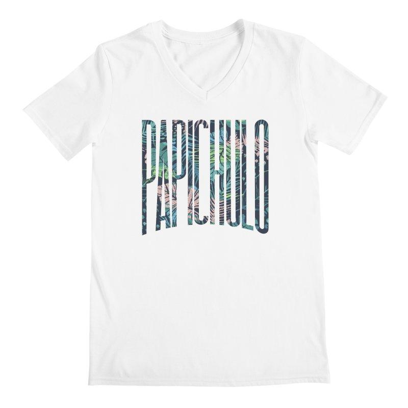 Papichulo Men's V-Neck by Saṃsāra LSD