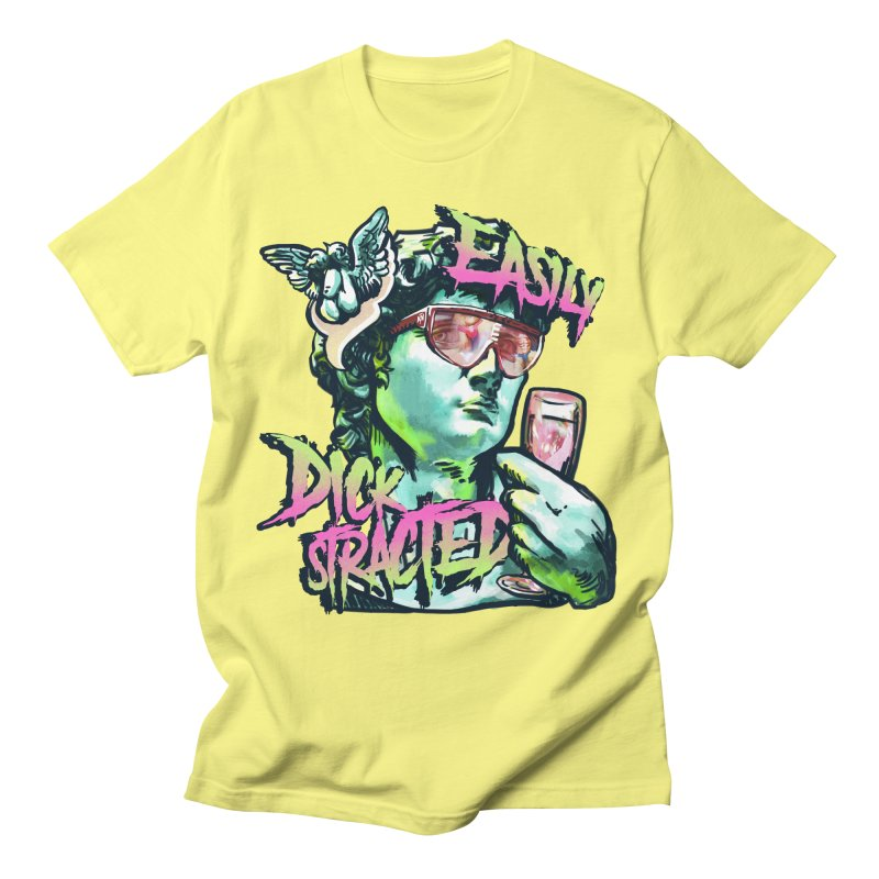 Easily Dickstracted Men's T-Shirt by Saṃsāra LSD