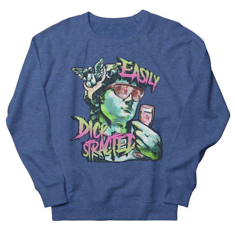 Easily Dickstracted Men's Sweatshirt by Saṃsāra LSD
