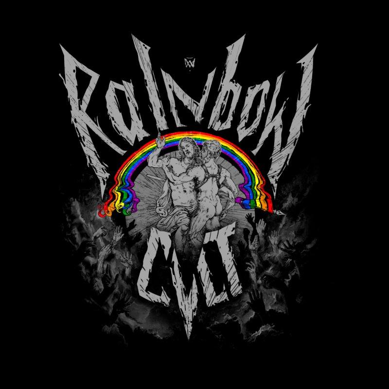 Rainbow Cult Men's Pullover Hoody by Saṃsāra LSD