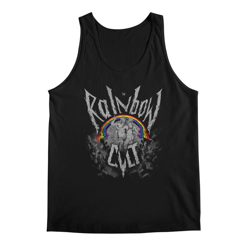 Rainbow Cult Men's Tank by Saṃsāra LSD
