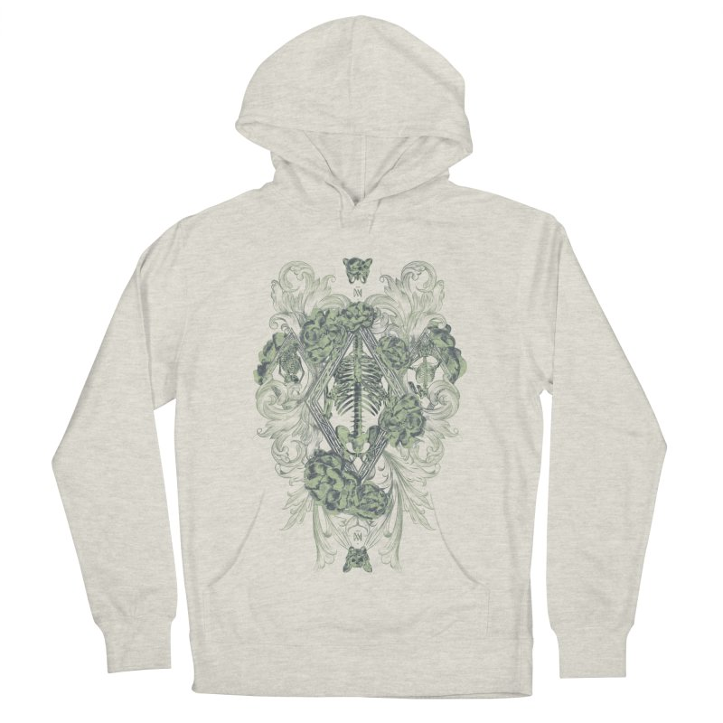 Jardí d'Ossos Men's French Terry Pullover Hoody by Saṃsāra LSD