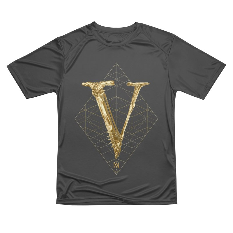 V for Victory Women's Performance Unisex T-Shirt by Saṃsāra LSD