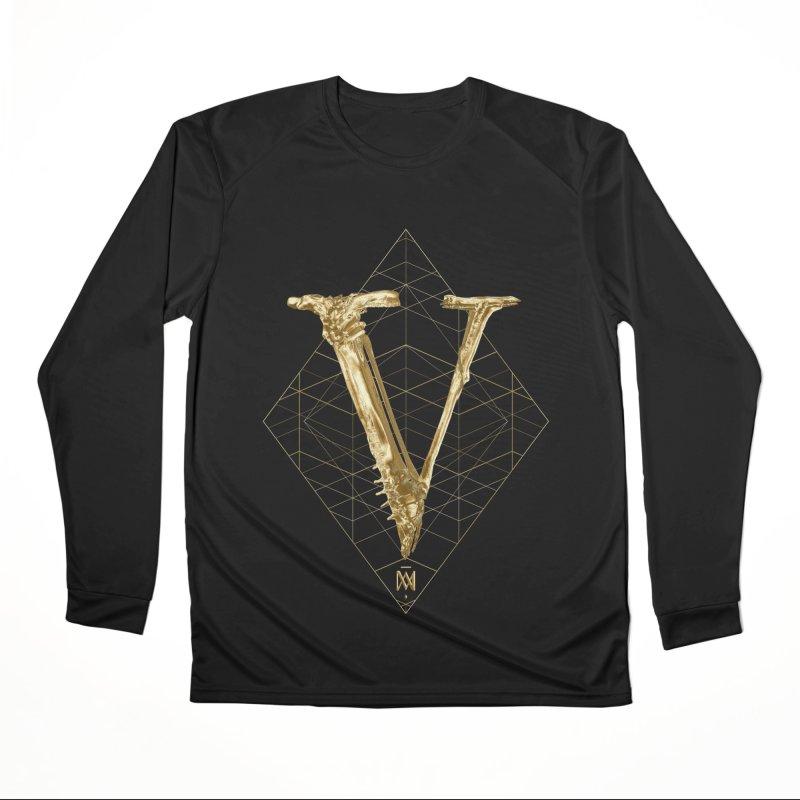 V for Victory Men's Performance Longsleeve T-Shirt by Saṃsāra LSD