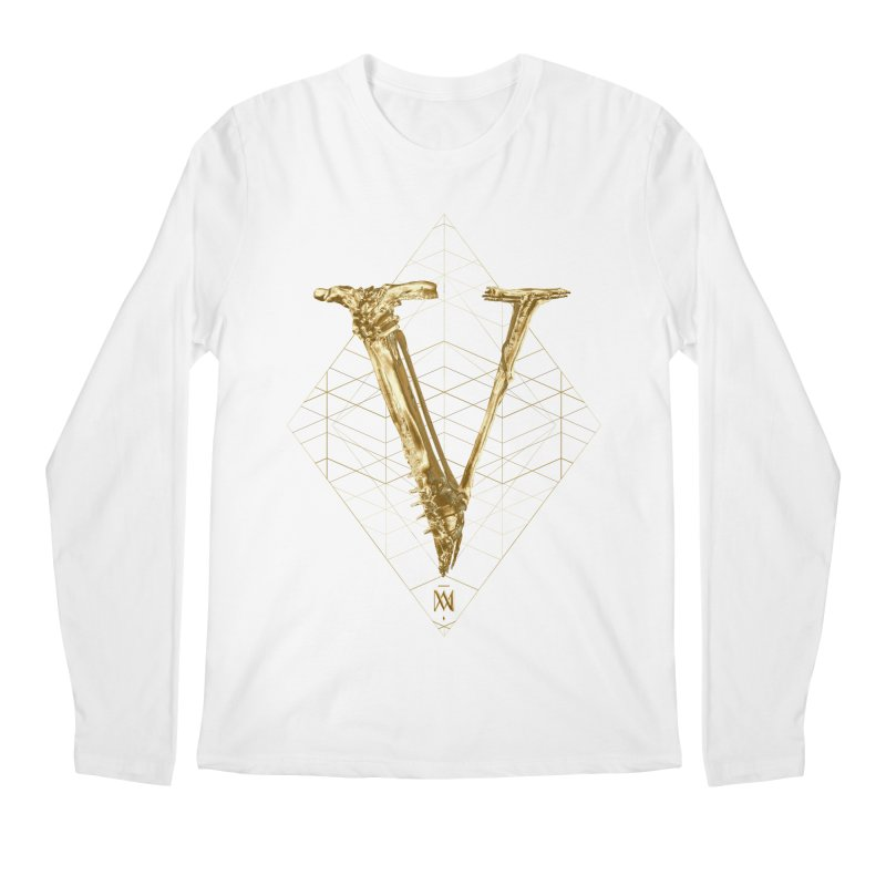 V for Victory Men's Regular Longsleeve T-Shirt by Saṃsāra LSD