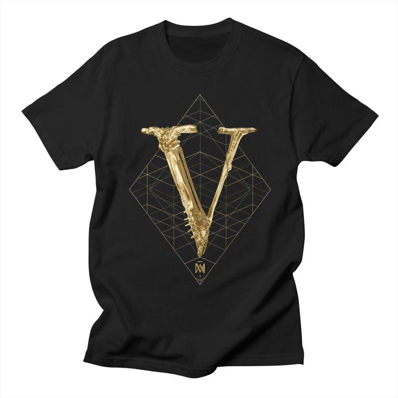 V for Victory Men's Regular T-Shirt by Saṃsāra LSD