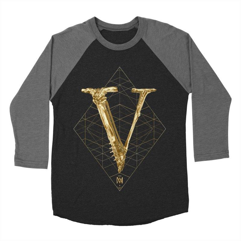V for Victory Women's Baseball Triblend Longsleeve T-Shirt by Saṃsāra LSD
