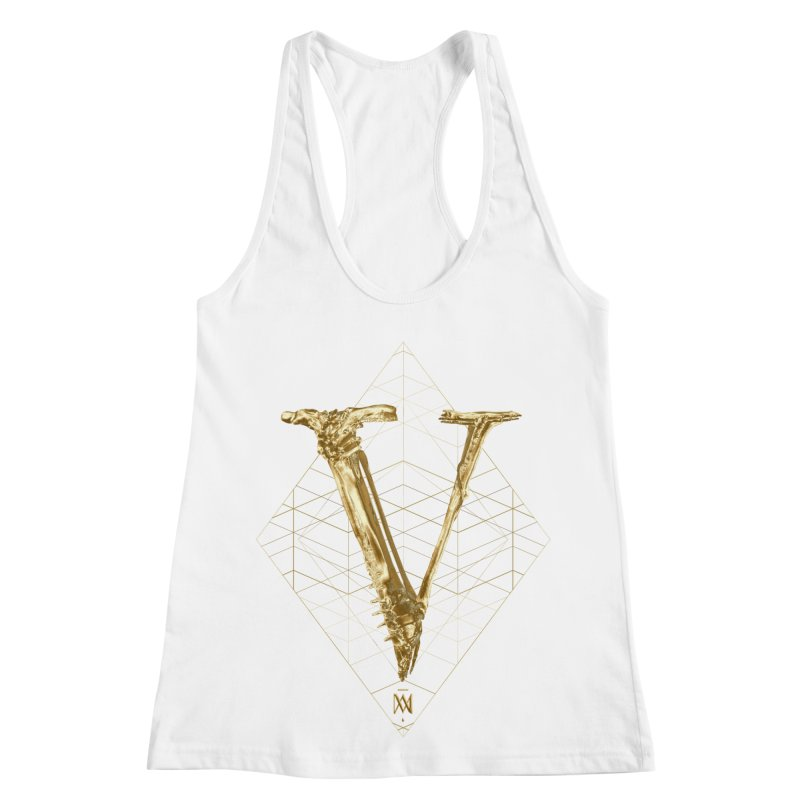 V for Victory Women's Racerback Tank by Saṃsāra LSD