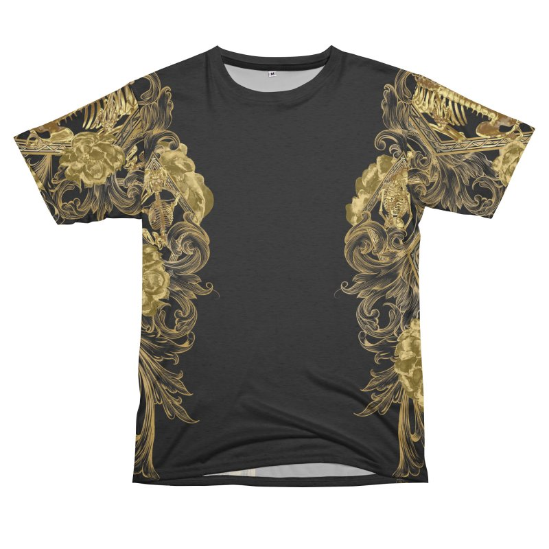 Cofre d'Ossos in Men's French Terry T-Shirt Cut & Sew by Saṃsāra LSD