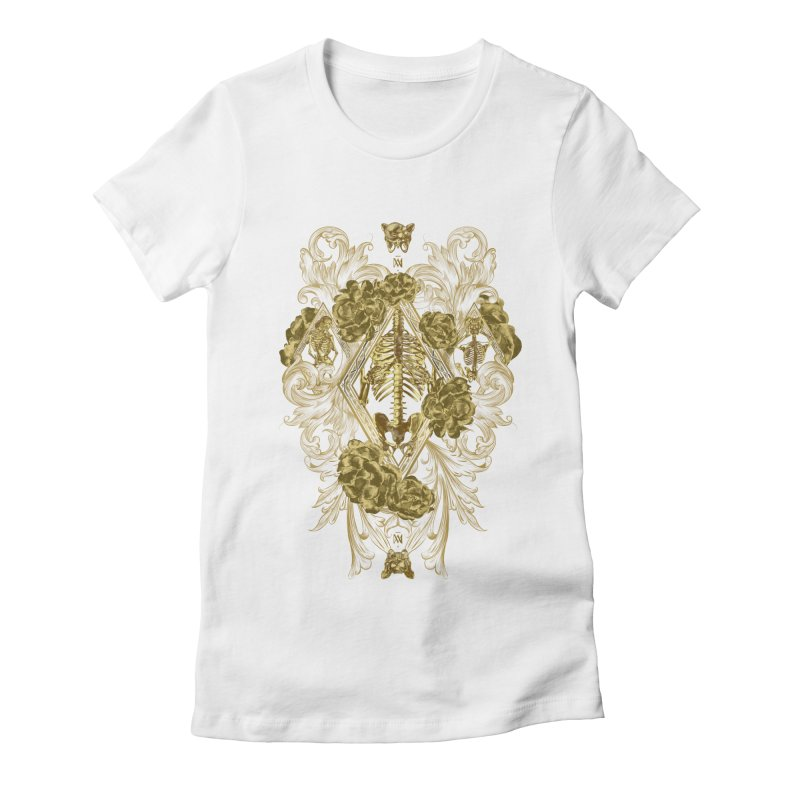 Cofre d'Ossos Women's Fitted T-Shirt by Saṃsāra LSD