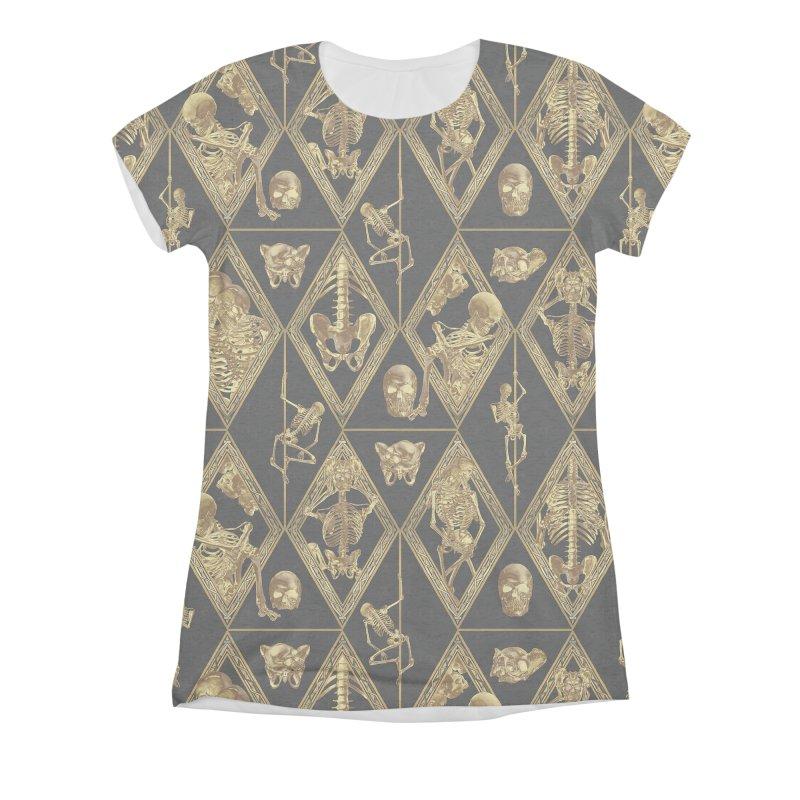 Rheingold Rhombus Women's Triblend All Over Print by Saṃsāra LSD