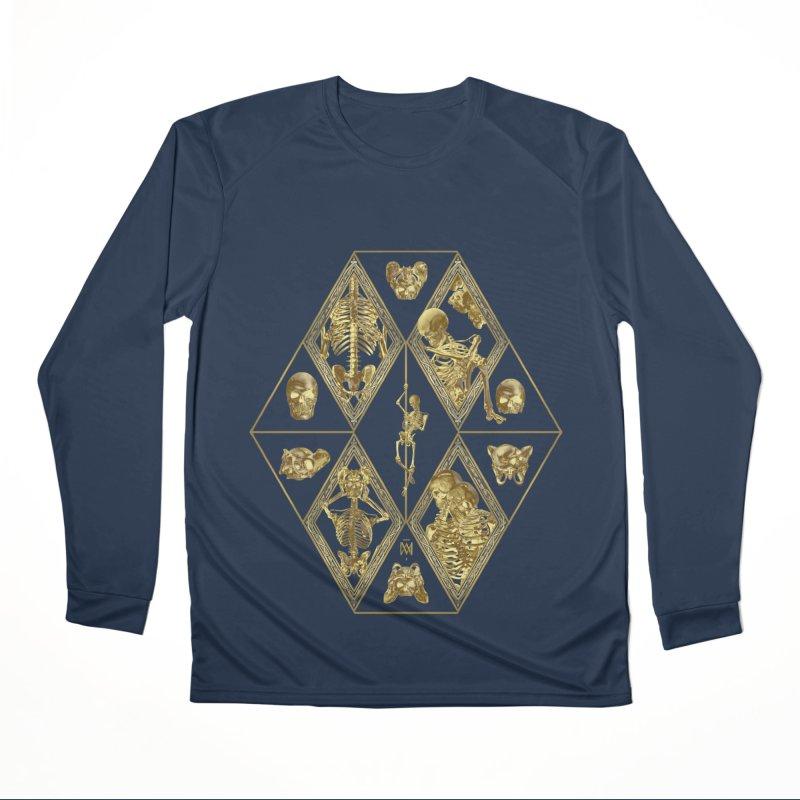 Rheingold Rhombus Men's Performance Longsleeve T-Shirt by Saṃsāra LSD
