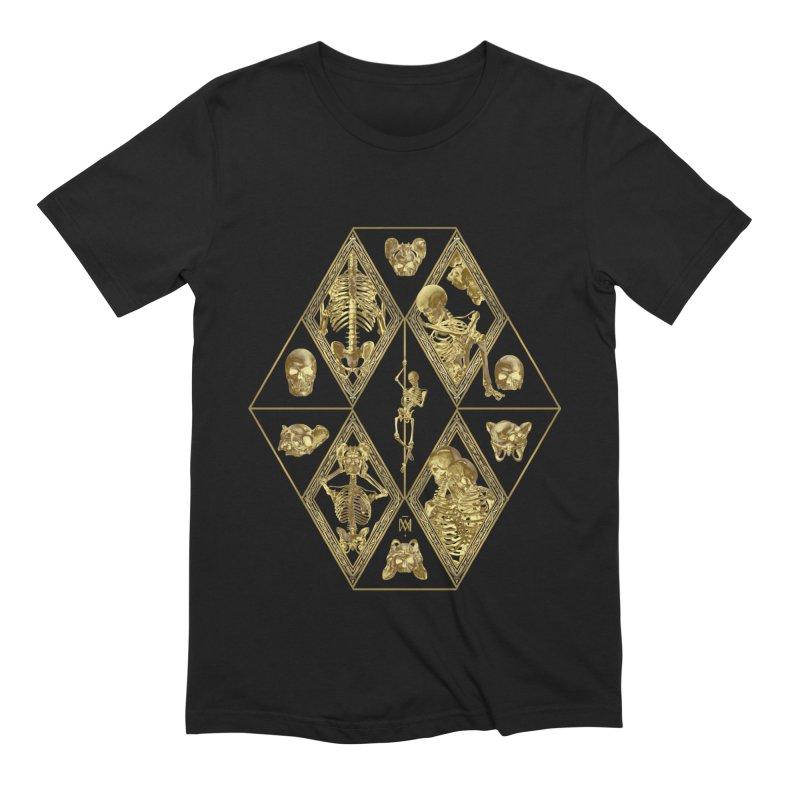 Rheingold Rhombus Men's Extra Soft T-Shirt by Saṃsāra LSD