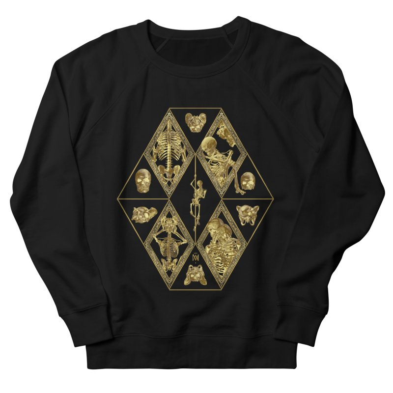 Rheingold Rhombus Men's French Terry Sweatshirt by Saṃsāra LSD