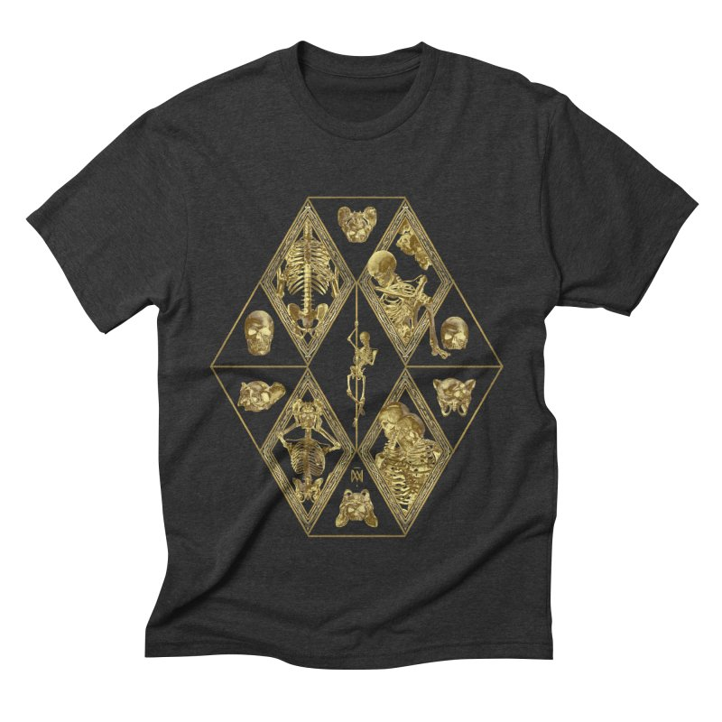 Rheingold Rhombus Men's Triblend T-Shirt by Saṃsāra LSD