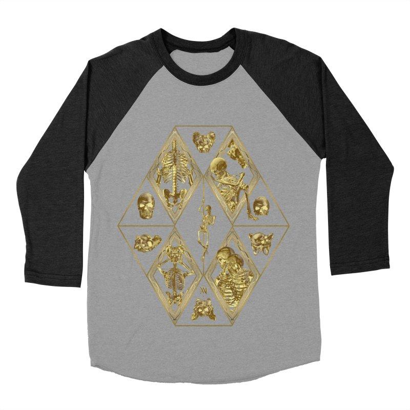 Rheingold Rhombus Women's Baseball Triblend Longsleeve T-Shirt by Saṃsāra LSD