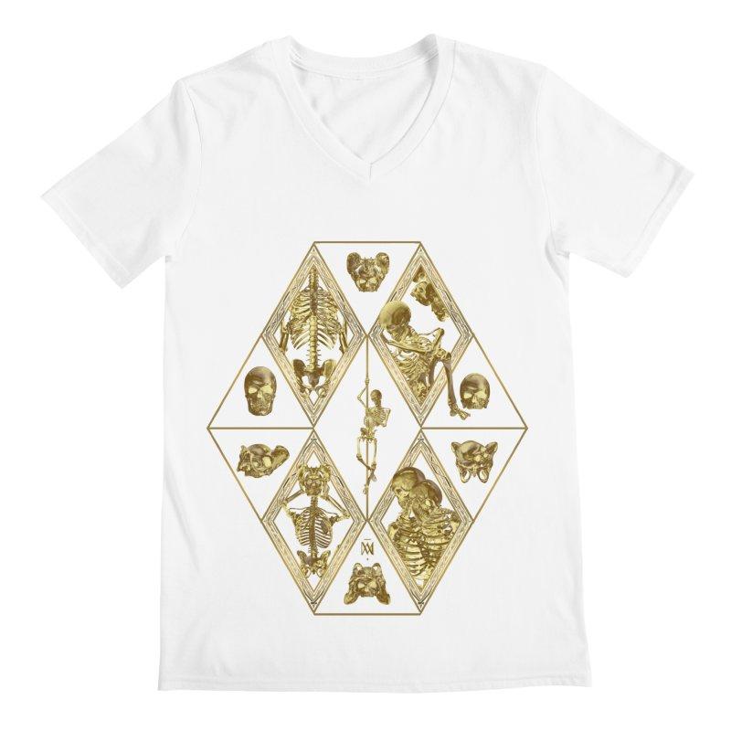 Rheingold Rhombus Men's Regular V-Neck by Saṃsāra LSD