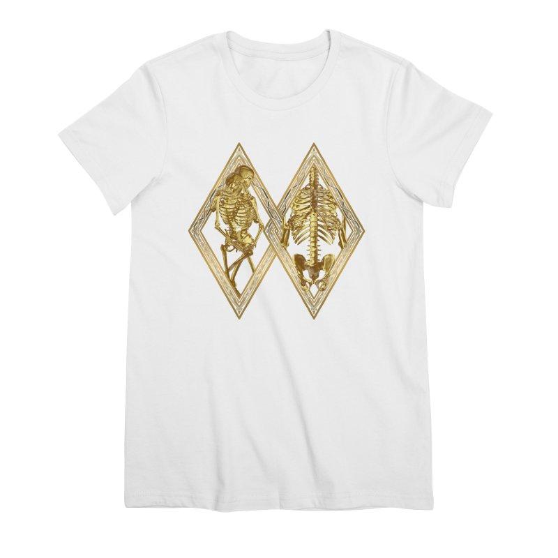 Rhombus Cage Women's Premium T-Shirt by Saṃsāra LSD