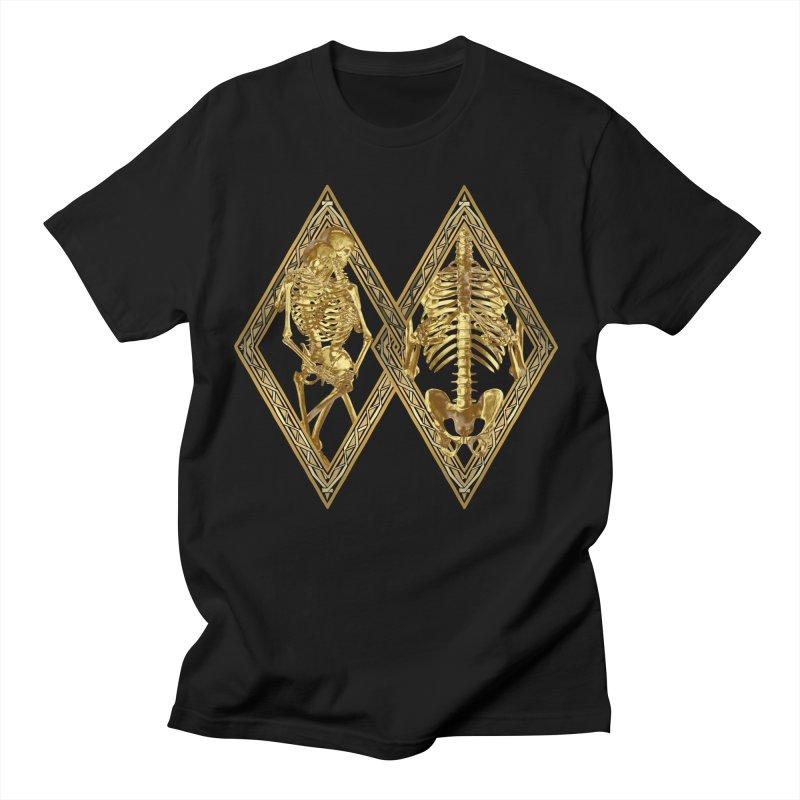 Rhombus Cage Men's T-Shirt by Saṃsāra LSD