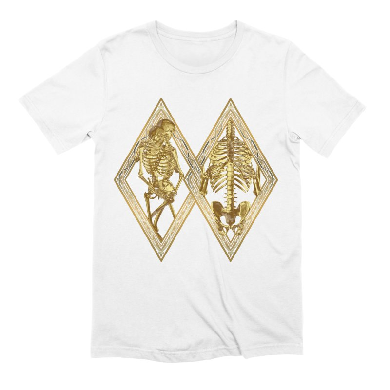 Rhombus Cage Men's Extra Soft T-Shirt by Saṃsāra LSD