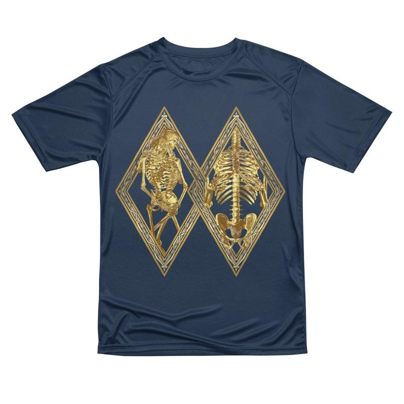 Rhombus Cage Men's Performance T-Shirt by Saṃsāra LSD