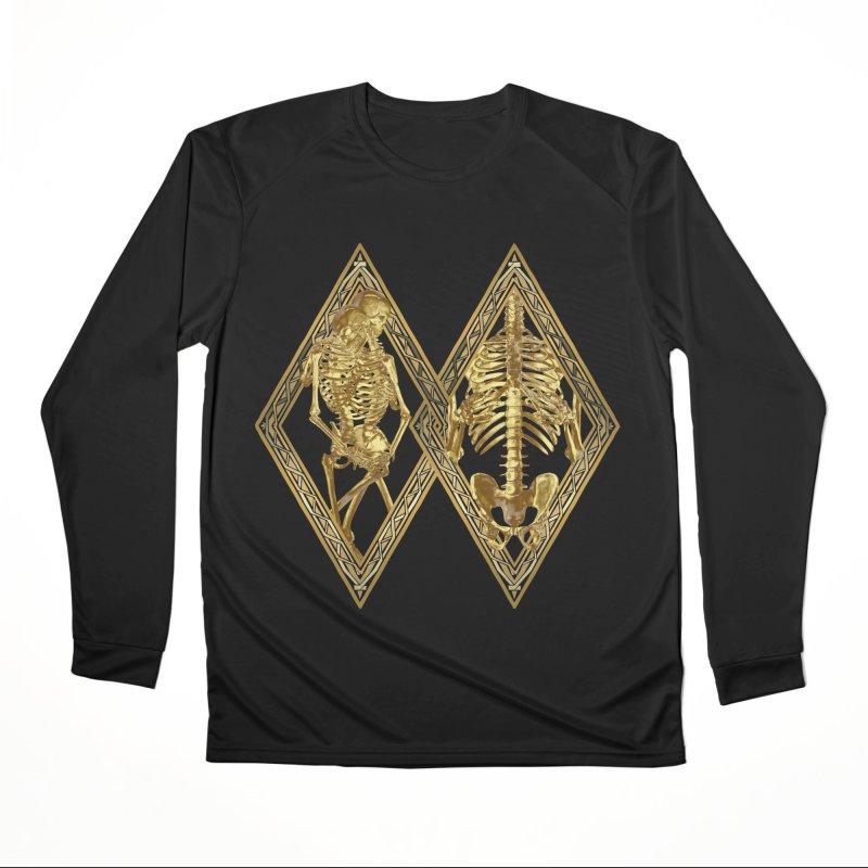 Rhombus Cage Men's Longsleeve T-Shirt by Saṃsāra LSD