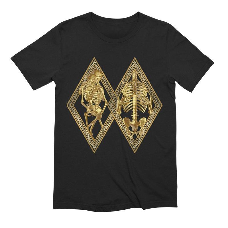 Rhombus Cage Men's Extra Soft T-Shirt by Saṃsāra LSD