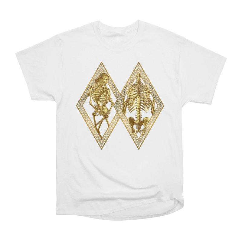 Rhombus Cage Men's Heavyweight T-Shirt by Saṃsāra LSD