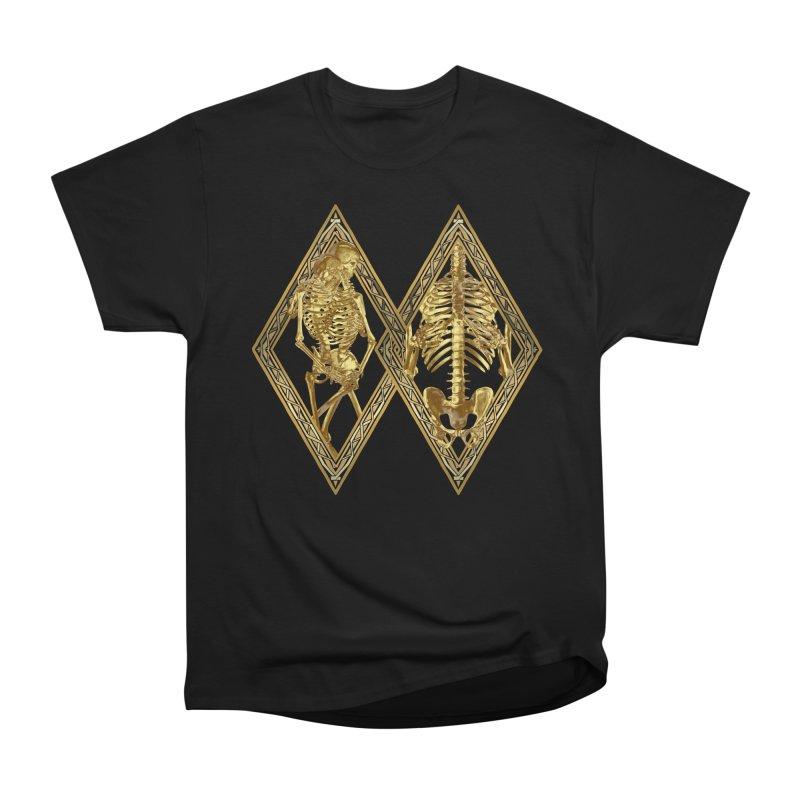 Rhombus Cage Women's Heavyweight Unisex T-Shirt by Saṃsāra LSD