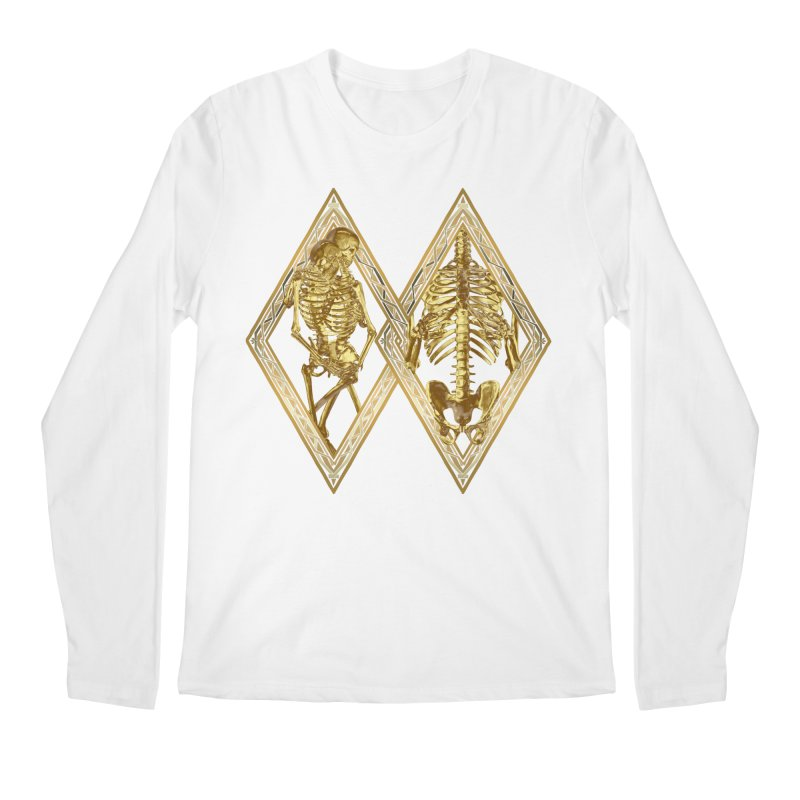 Rhombus Cage Men's Regular Longsleeve T-Shirt by Saṃsāra LSD