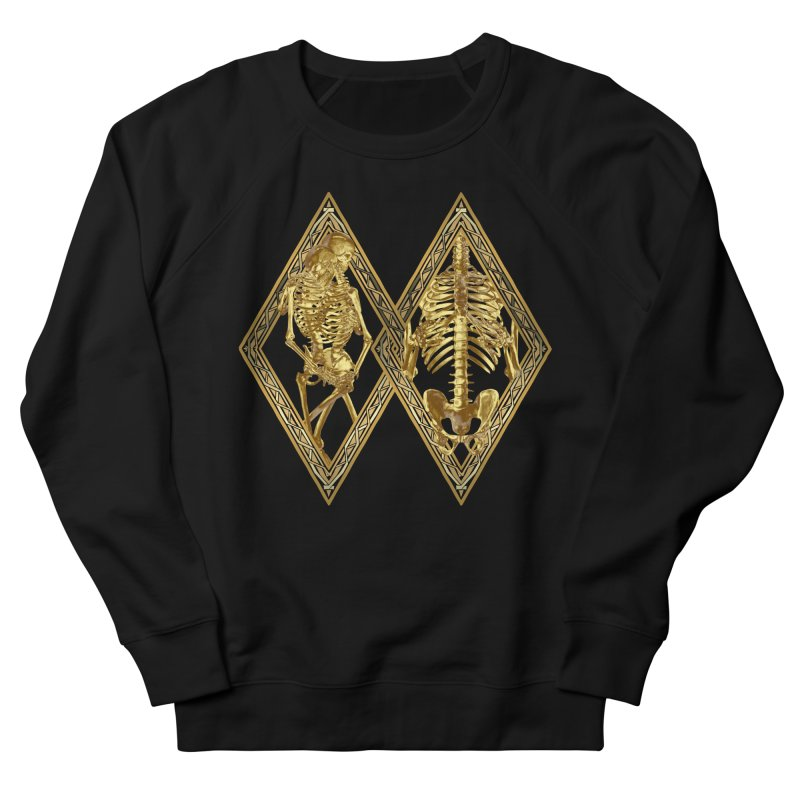 Rhombus Cage Men's French Terry Sweatshirt by Saṃsāra LSD