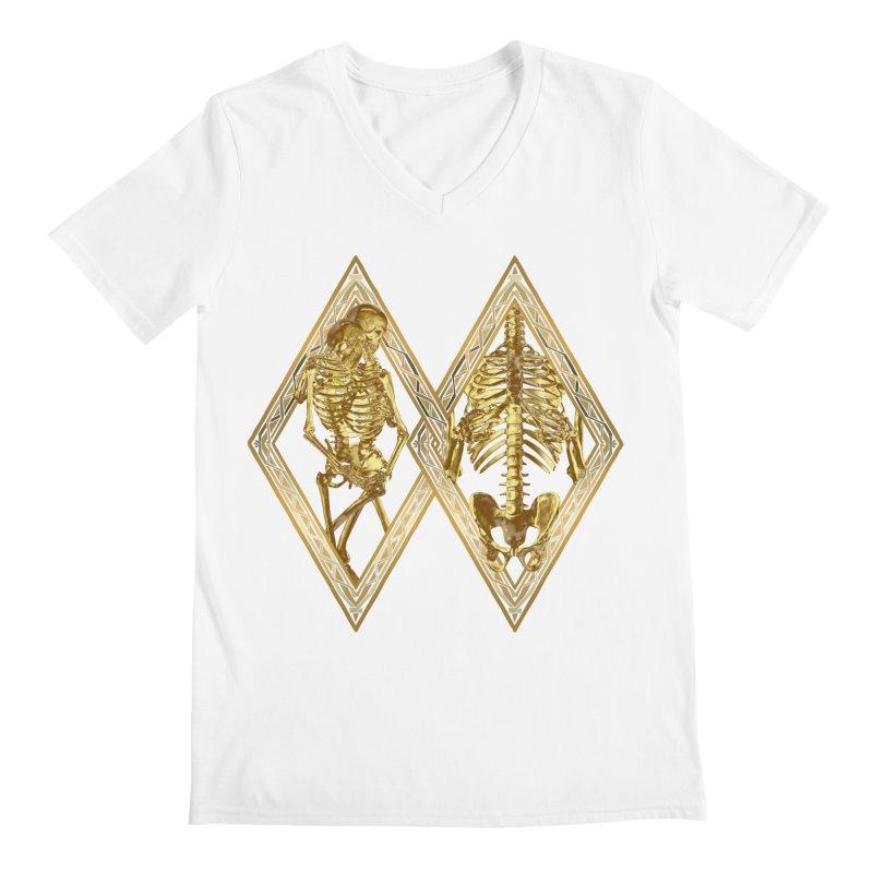 Rhombus Cage Men's V-Neck by Saṃsāra LSD