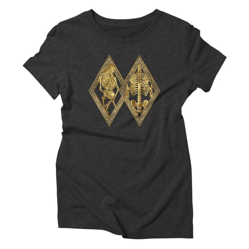 Rhombus Cage Women's Triblend T-Shirt by Saṃsāra LSD