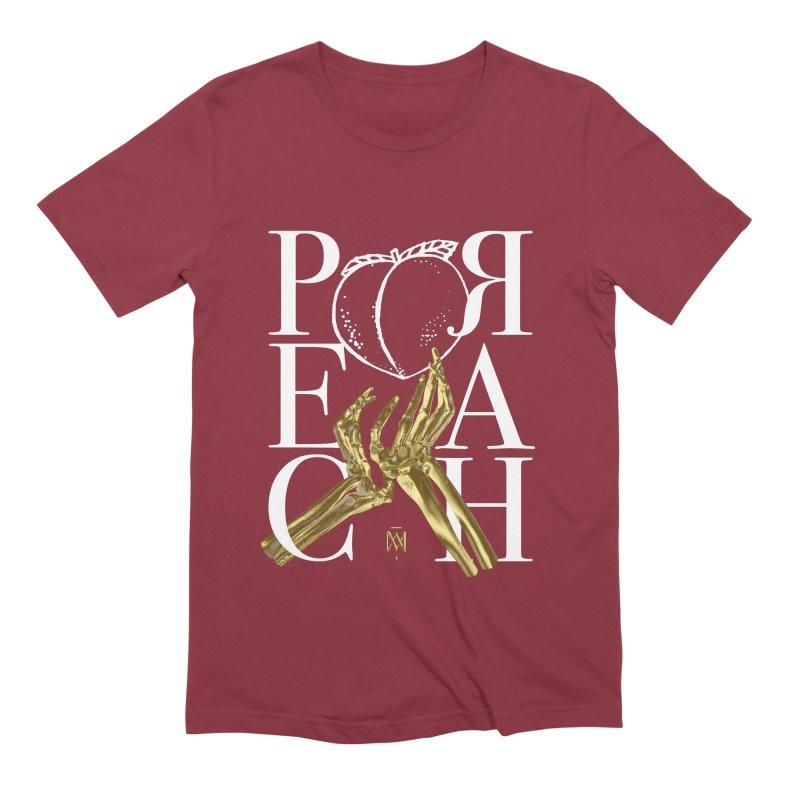 Preach Men's Extra Soft T-Shirt by Saṃsāra LSD